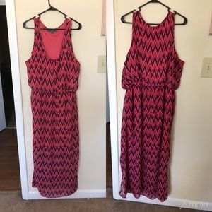 Signify Chevron Maxi Dress